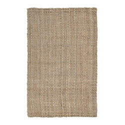 Kaleen - Kaleen Essential Collection 8501-44 5'x8' Natural - Essentials is a collection of classic and all natural Jute hand loomed designs.  Jute has been a  Green  product for eons before the movement became the main stream darling.  Kaleen has captured the true fashion essences of this beautiful product. The Essentials Collection is Hand loomed in India of only the finest 100% hand processed Jute.