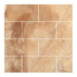 Stone & Co - Crema Caramel Onyx Polished 3x6 Subway Tile - Finish: Polished