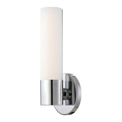 "Kovacs - Kovacs P5041-077-L 1 Light 4.75"" Width ADA Compliant LED Bathroom Sconce in Chro - Single Light 4.75"" Width ADA Compliant LED Bathroom Sconce in Chrome from the Saber CollectionFeatures:"