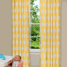 Eclectic Curtains by contempocurtains.com