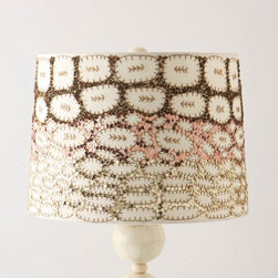 Pinyon Shimmer Shade - I am so in love with these sequin lampshades (look at them up close and personal). I've always been a fan of a little shimmer.