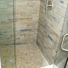 Contemporary Bathroom by 3-D Contracting Inc.