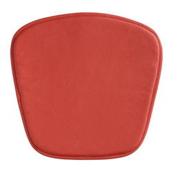 Zuo Modern - Zuo Mesh/Wire Bar Chair Cushion in Red - Bar Chair Cushion in Red belongs to Mesh/Wire Collection by Zuo Modern Leatherette. Bar Chair (1)