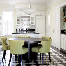 Contemporary Dining Room by Michael Merrill Design Studio, Inc