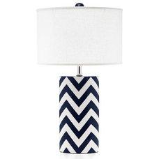Modern Table Lamps by Jill Rosenwald