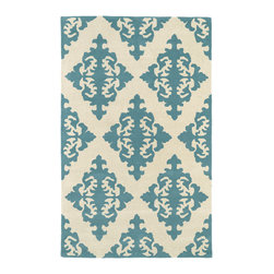 """Kaleen - Kaleen Evolution Collection EVL05-56 2'3"""" x 8' Spa - The Evolution collection completely embraces the history of classic elegance and traditional expertise of Kaleen Rugs, while perfectly capturing the evolving high fashion and hot new trends of today's design. Dramatic patterns showcasing precise attention to details and a unique twist of color will add the perfect addition to your home. Each rug is Hand-Tufted in India with a 100% soft and luxurious wool."""