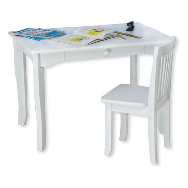 Kidkraft - KidKraft Brighton Table in White - Kidkraft - Kids' Tables - 26701 - Our Brighton Table makes playtime much easier to manage. This is an ideal table for any child activity whether its a school project board game or tea party