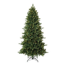 Pine Crest Slim Spruce Christmas Tree - A SOPHISTICATED HOLIDAY CHARM IN TREE CLASSICS' PINE CREST SLIM SPRUCE CHRISTMAS TREE