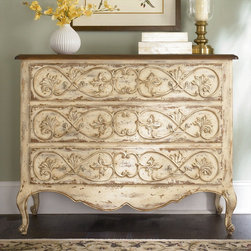 "Hammary - Hidden Treasures Drawer Chest - ""Hammary's Hidden Treasures collection is a fine assortment of unique accent pieces inspired by some of the greatest designs the world over. Each selection is rich in Old World icons and traditions."