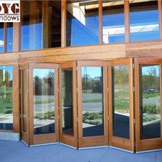 Modern Front Doors by DYG Windows Ltd.