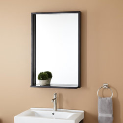 "22"" Kyra Mirror - The 22"" Kyra Mirror brings straight-forward style to any room of your home, be it bath or entryway."