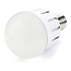 E27 LED Bulb, 8W - E27-xW8W-G series globe type LED replacement bulb for traditional medium screw base lamps. 100~240 VAC operation. Light output comparable to 40~50 Watt incandescent bulbs. Consumes up to 12 Watts of power using 15 x  5730SMD LEDs. Available in Natural White and Warm White with 360° beam pattern.