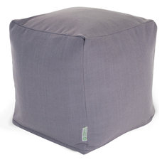 Contemporary Ottomans And Cubes by Majestic Home Goods