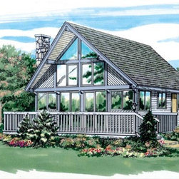 House Plan 55135 at FamilyHomePlans.com -