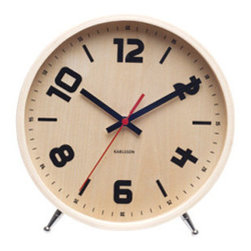 Stockholm Table Clock - I think adding in neutral items that aren't necessarily specifically for kids, like this alarm clock, helps to balance out all of the brighter and more playful items in a kids' space.