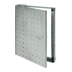 "Best Access Doors - 8"" x 8"" Waldor 50 Stainless Steel - 8"" x 8"" Waldor 50 Stainless Steel BA-FW50 - For access through tiled wall surfaces The Waldor access panel is designed to give access to concealed services within tiled walls. The access panel is manufactured from 1.5 mm thick corrosion resistant stainless steel with patented concealed hinge. The doors can be fitted with either ""push pull"" concealed or security locks. Also available is an optional stainless steel show edge for both the door and frame. http: www.bestaccessdoors.com content BA-F10625.pdf Download Technical Data Submittal Sheet Special advantagesCan be keyed alikeFast deliveryEconomical solutionQuick and easy installationSuperior engineering and innovative design Customized solutions Customized sizes can be produced in every dimension upon request. http: www.bestaccessdoors.com custom-size-access-doors (Request a Quote)"