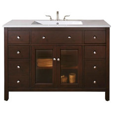 Contemporary Bathroom Vanities And Sink Consoles by Remodelr