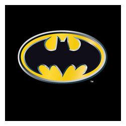 JP Imports - Batman Emblem Rug Large Superhero Symbol Floor Mat - FEATURES: