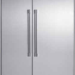 Built-In Side By Side Refrigerator - We put convenience first when we designed our side-by-side