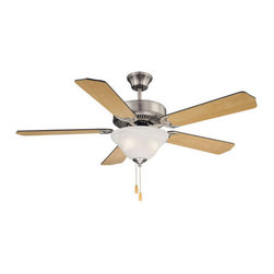 "Savoy House - Savoy House 52-ECM-5RV First Value 5 Blade Ceiling Fan with 2 Light Bowl Light K - First Value 52"" Five-Blade Indoor Ceiling Fan with Bowl Light Kit and Reversible Fan BladesSavoy House First Value Down Light Indoor Ceiling Fan Features:"