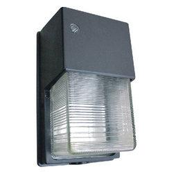 Morris - Mini Wall Packs 100W Metal Halide Quad 120/208/240/277V - 100W PS Metal Halide Mini Wall Packs with Borosilicate Glass Lens - Mini Electrical Wall Packs provide low-profile, high-output lighting.