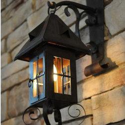 "Meyda Lighting - Meyda Lighting 18""H Restored 1 Lt Lantern Wall Sconce - -Height:18"""