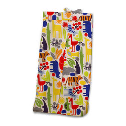 Zoo 4 U Diaper Stacker - Our Zoo 4 U Diaper Stacker coordinates with the Zoo print crib bedding, knobs and accessories to make the Zoo animal theme nursery complete.