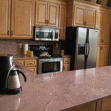 Contemporary Kitchen Countertops by Jasper Stone Company