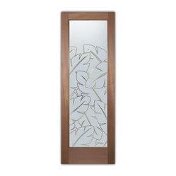 door glass insert only or pre-installed in an interior door frame ...