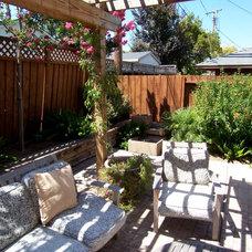 Back yard 1 remodel done