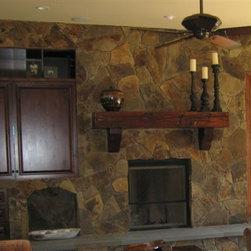 Fireplace Mantel -