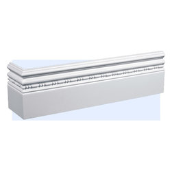 "Inviting Home - Aventura Baseboard (8 foot long) - Aventura baseboard molding 5-1/2""H x 5/8""P baseboard sold in 8 foot length 4 piece minimum order required Baseboard Specifications: Outstanding quality baseboard made from technologically advanced high-density polyurethane. Baseboard is pre-primed with water-based white paint and has tough surface. Molding is ightweight durable and easy to install using common woodworking tools. Metal dies were used for consistent quality and perfect part to part match for hassle free installation. Baseboard has sharp deep and highly defined design and can be finished with any quality paints."