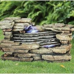 Design Toscano Chestnut Ridge Cascading Garden Fountain