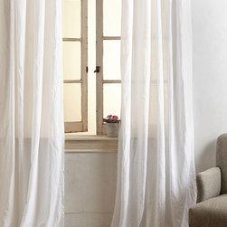 Garment-Dyed Linen Curtain - Garment-Dyed Linen Curtain