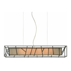 LBL Lighting - LBL Lighting | Derby Rectangular Suspension Light - Design by LBL Lighting.