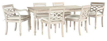 Traditional Outdoor Dining Tables by Ballard Designs