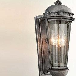 Troy Lighting - Ambassador 3-lt Outdoor Wall Lantern - Medium - Ambassador 3-lt Outdoor Wall Lantern - Medium