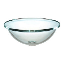 Pegasus - Bell Shaped Vessel Sink - pegvs165bel - Manufacturer SKU: pegvs165bel. Made from tempered glass. Overall: 16.5 in. Dia. x 6.6 in. H (16 lbs.)