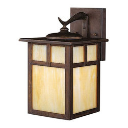 Kichler - Kichler Alameda 1-Light Canyon View Wall Lantern - 10961CV - This 1-Light Wall Lantern is part of the Alameda Collection and has a Canyon View Finish. It is Energy Efficient, Outdoor Capable, and Title 24 Compliant.
