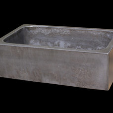 Eclectic Kitchen Sinks by BDWG Concrete Studio