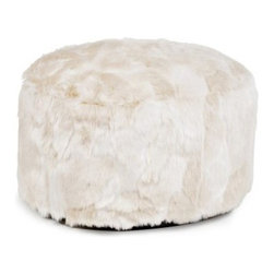 Howard Elliott Foot Pouf Sable Ottoman - If you wish you had a super soft, friendly dog to cuddle up to, but circumstances prevent you, try the Howard Elliott Foot Pouf Sable Ottoman. This luxuriously soft ottoman ensures you always have a furry friend resting by your feet. Its delightfully textured cover is removable for easy cleaning. About the Howard Elliott Collection.The Howard Elliott Collection is one of the premiere manufacturers of decorative mirrors and accessories in the home furnishings industry. Howard Elliott offers innovative designs in a wide variety of styles, and the company prides itself on its high standards and quality. No matter your style, the Howard Elliott Collection offers pieces that are sure to add sophistication and luxury to your decor.In the company's meteoric rise, it now ships to nearly 3,500 furniture, home furnishings, and lighting retailers as well as many of the top contract companies servicing the hotel and building industries worldwide.