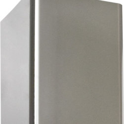 """32"""" Flue Cover - Alrigo Series 30"""" and 36"""" Stainless Steel Wall-Mount Range Hood - Perfect for tall ceilings, this flue cover will conceal unsightly ductwork with sleek stainless steel. Designed to fit the Alrigo Series 30"""" and 36"""" Stainless Steel Wall-Mount Range Hood."""