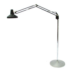 Used Mid Century Articulated Floor Lamp An Articulated
