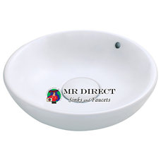 Traditional Bathroom Sinks by MR Direct Sinks and Faucets