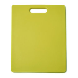 Architec Original Gripper Cutting Board Yellow - The Architec Original Gripper Cutting Board features 300+ soft gripping feet which are thermally bonded to the durable  polypropylene cutting surface.  Dishwasher safe.  Award winning design.            Product Features                        Soft feet allow cutting surface to grip countertop            Non skid            Polypropylene construction            Dishwasher-safe