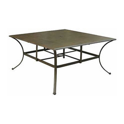 Panama Jack Island Breeze Square Dining Table