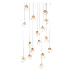 Bocci - Bocci | 28.16 Rectangle Pendant Chandelier - Design by Omer Arbel.