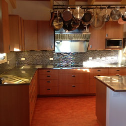 Countertop Stove With Exhaust : ... Exhaust hood with stainless steel removable filters. Plasma cut out