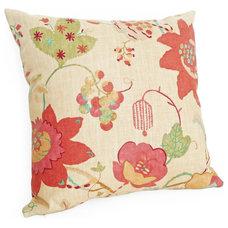 Eclectic Decorative Pillows by PillowThrowDecor
