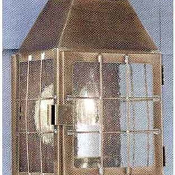 Norwell - American Heritage Bronze Wall Mounted Outdoor Light - Elegant American Heritage Wall Mounted Outdoor Light has old world lantern styling in a Bronze finish complimented with seedy glass.   Norwell - 1059-BR-SE